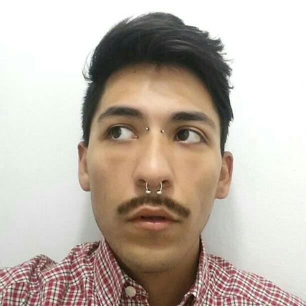 Guy with Bridge Piercing